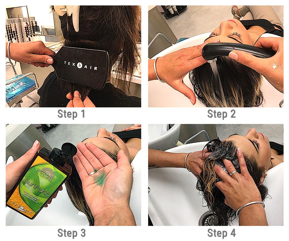 Come si fa lo shampoo