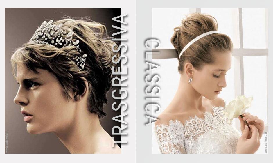Ti senti una sposa classica o trasgressiva?