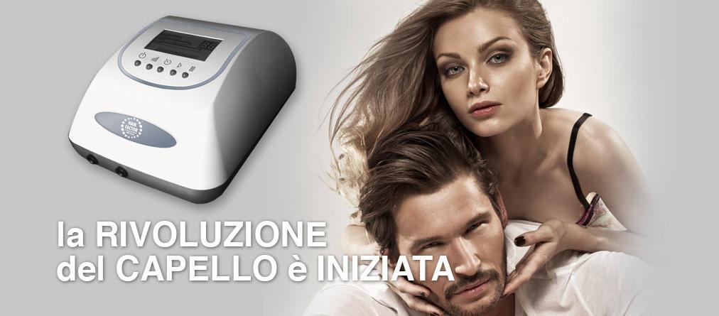 HairFactor7000 è la novità non invasiva contro il diradamento e la caduta dei capelli